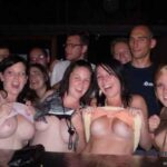 Public nudity photo enf-findings:Daring to flash for free drinks. Mine's a…