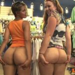 Public flashing photo outside-only:would you like more sluts exhibitionists outside…