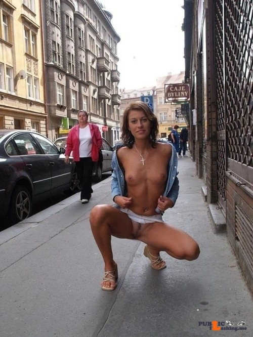 Public nudity photo hot-public-flashing:? Follow me for more public exhibitionists:…