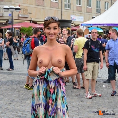 Public nudity photo hot-public-flashing:😍 Follow me for more public exhibitionists:…
