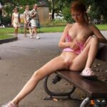 Public nudity photo do-you-know-any-shame:The hypnosis worked great. Kathy did…