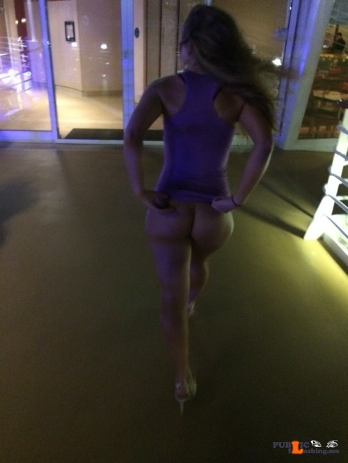 No panties stlswingercpl: Heading into the club! Commando clubbing pantiesless