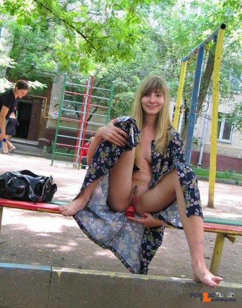 Public Flashing Photo Feed : Public flashing photo sexypieces:Playground