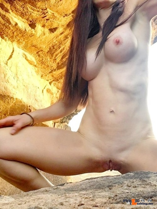 Public flashing photo Rock Hard MIlf