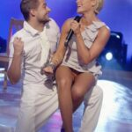 carelessinpublic: Singing in the stage in a short dress and… flashing in public picture