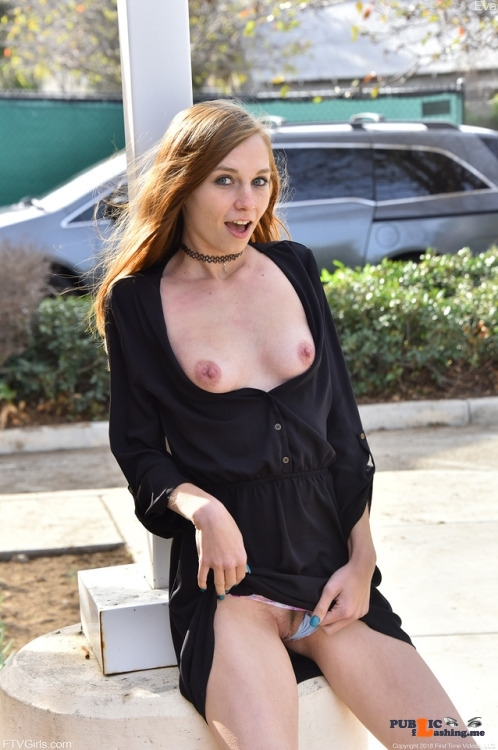 FTV Babes Naughty FTV girl shows off her naughty bits in a very public…