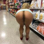 Public flashing photo shoppingbabes5: Ass flash at the potato chips section …