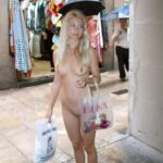 Public flashing photo flashing-and-nude-in-public: Fast food restaurant flasher