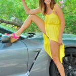 FTV Babes upskirt Hannah chooses a rather unconditional upskirt pose. Not that we…