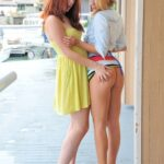 FTV Babes Horny redhead exposes her friend's hot ass, and a lot more, in…