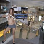 Julie P' flashing in public picture