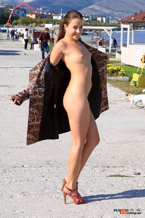 Public flashing photo xposedzone: Follow xposedzone for more girls naked in…