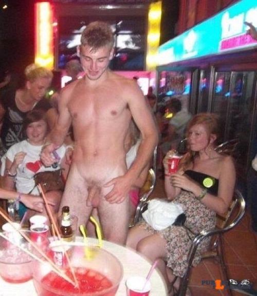 Public nudity photo cfnmzone:Carla wasn'tone bit surprised that she was able to dare…