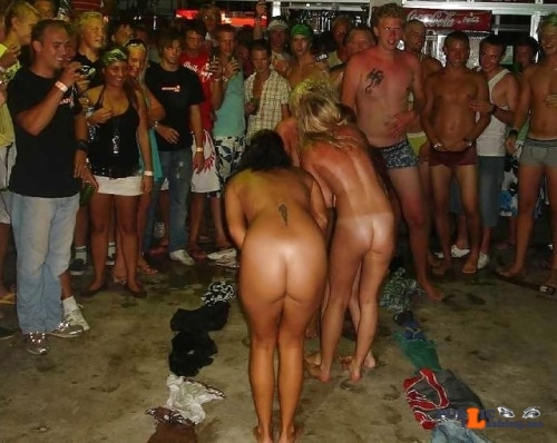 Public nudity photo enf-findings:Either a strip game, or an initiation, but these…