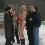 "Public nudity photo fanofenf: ""Aren't you guys cold?"" ""No."" Not…"