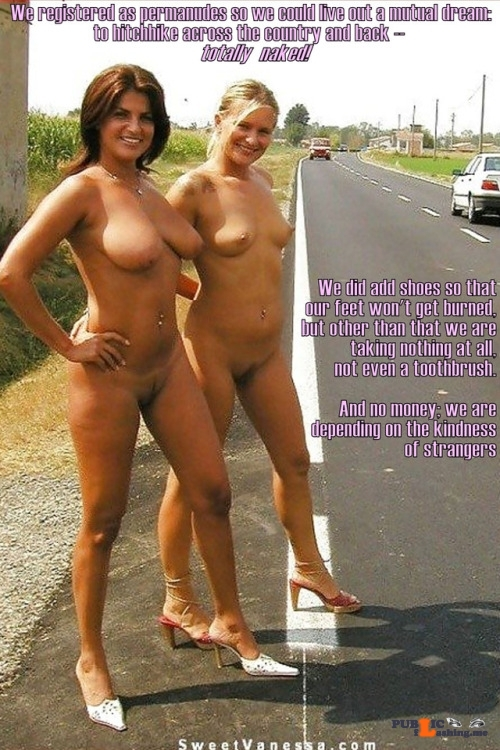 Public nudity photo daican-2:Cross-Country Follow me for more public exhibitionists:…