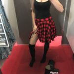 No panties blackxm: Out with hubby for lunch – can you notice what's… pantiesless