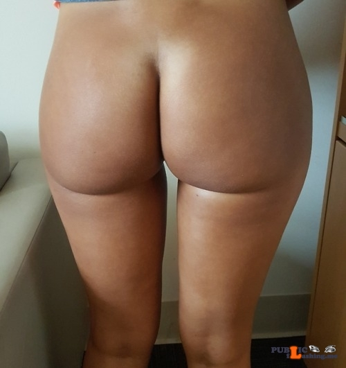 No panties dfwcouple1287: The wife didn't wear panties to work today…. pantiesless