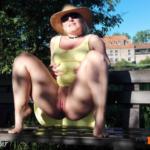 No panties mastersbuttcat: #buttcat after the golf-game returning to the… pantiesless