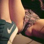 No panties curvyk710: A little peek 😏 pantiesless