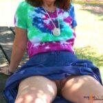 No panties sirsmilf: At the park pantiesless