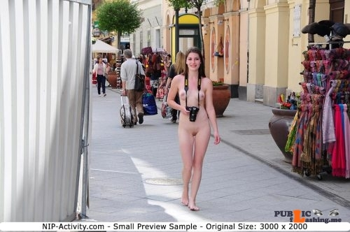 Public nudity photo daican-2: nude-girls-in-public: NIP-Activity: Enni – Series…