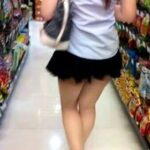 Public flashing photo thai-with-booty:Classic little flash of my ass in my university…