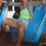 Exposed in public yourhappytraveler: Public bus ride in Cancun.