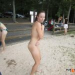 "Public nudity photo fanofenf:""Mike put the camera down and help me find my suit!""…"