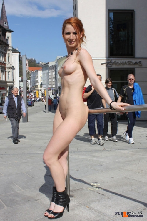Public nudity photo omg-l00k-at-me: Vienna from VoyeurWeb. Follow me for more public…