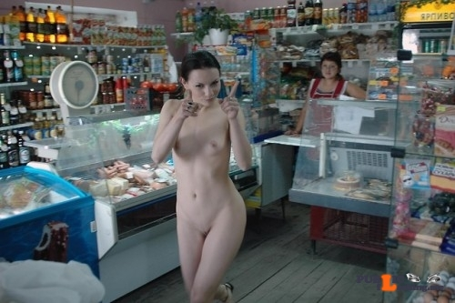 "Public nudity photo fanofenf:""Ha, see! You didn't think I'd actually take your…"