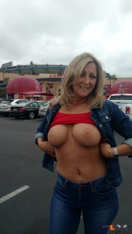 Exposed in public Photo