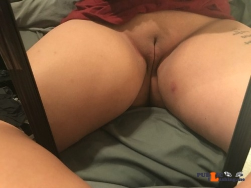 No panties prettyhispanicpussy: I love the way she looks so nice and juicy pantiesless