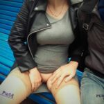No panties eliaspudd: Kinky romps on the bench in the city park (3/3)…. pantiesless