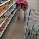 No panties allaboutthefun32: We had so much fun at the store yesterday she… pantiesless