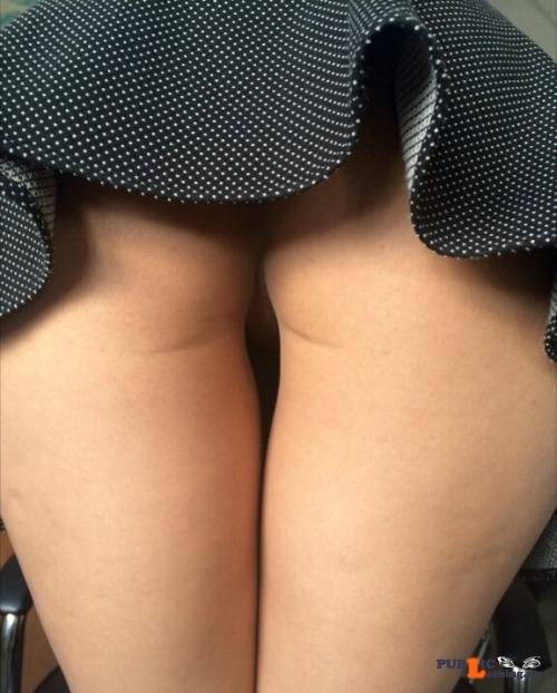 Public Flashing Photo Feed : No panties hotpeach69: More upskirt pantiesless