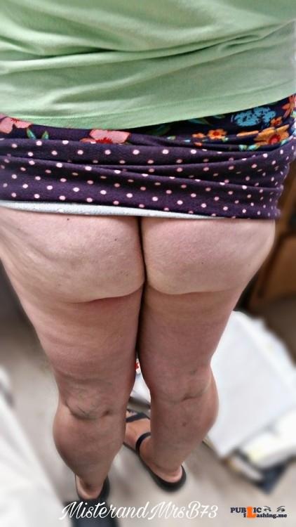 No panties misterandmrsb73: June 22nd is no panty day. Mrs remembered did… pantiesless