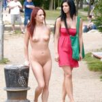 Public nudity photo bareinpublic: Follow Big Gurls – at…