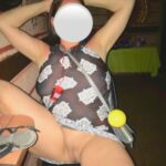 No panties 101nude101: This is the sheer dress I told you about. Fun af… pantiesless