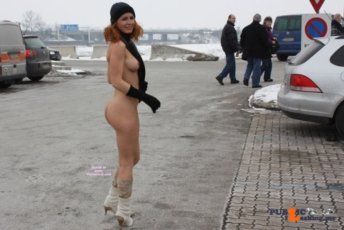 Public nudity photo omg-l00k-at-me:Vienna from VoyeurWeb. Follow me for more public…