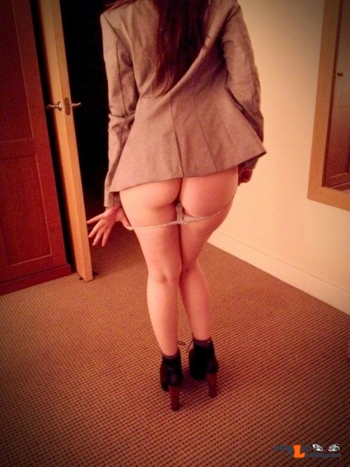 No panties hotpeach69: I don't need them anymore pantiesless