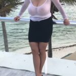 Exposed in public Beautiful heavy breasts…
