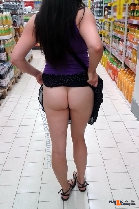 No panties crcacoco: Groceries pantiesless