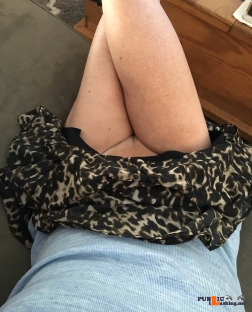 No panties michellesplace: Another hot day ahead! pantiesless