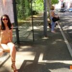 Public nudity photo labouisse31: Abri bus © 2/3 Follow me for more public…