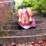No panties marajania: Stairway to heaven (so sad that I can't upload… pantiesless