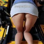 No panties peepenthom: Peepenthom, wife ready to mow pantiesless