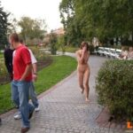 Public nudity photo lostadare: Girl dared to streak on campus. Well done! I think…