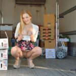 FTV Babes upskirt Damn, I need a job like this. Working on the truck when some hot…