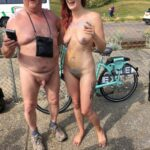 Flashing in public photo wnbrofficial:WNBR 2018